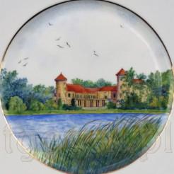 Bajeczny obrazek na porcelanowym talerzu OHME