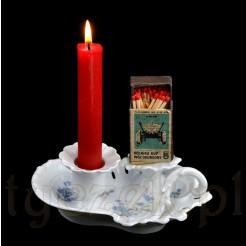 Stylowy świecznik w formie kaganka