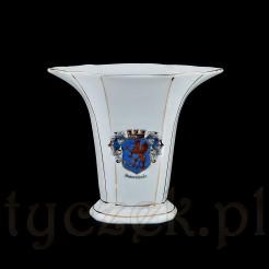 Luksusowy antyk Świnoujście - pamiątkowy wazon