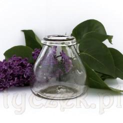 Wspaniały szklany kałamarz dawny