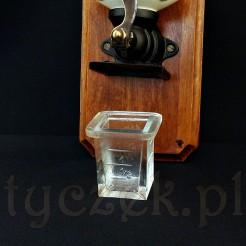 Wsuwana Szklana szufladka do wiszącego młynka do mielenia kawy i nie tylko