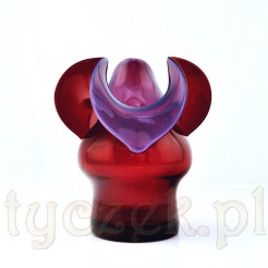 Niesamowicie intrygująca szklana forma