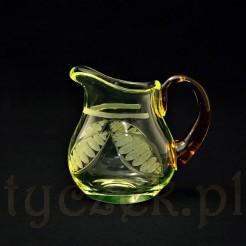 szklany mlecznik do kolekcji
