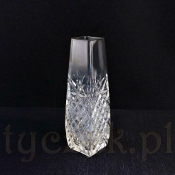 Kryształowy wazonik na kwiaty