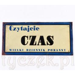 Kolekcjonerska reklama Czasopisma CZAS