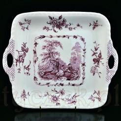 Wytworna taca ceramiczna w typie Ironstone China wytwórni Mason's (Wedgwood)