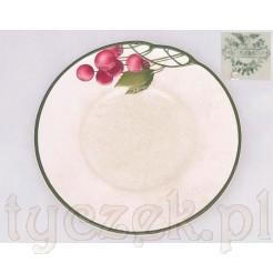 Dekoracyjny i zabytkowy talerz marki Mettlach