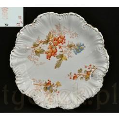 zabytkowy talerz ceramiczny
