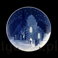 Dekoracyjny talerz z limitowanej kolekcji Boże Narodzenie z 1912 r.