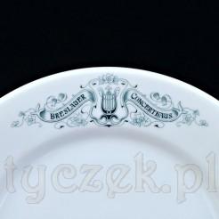 BRESLAUER CONCERTHAUS - rzadki okaz z porcelany śląskiej
