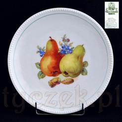 Zabytkowy talerz z Wałbrzycha dekorowany w Bawarii