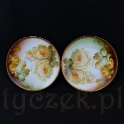 Procelana bawarska z motywem pięknie kwitnących róż