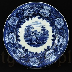 Piękny okaz w typie Blue&White pottery z saksoni
