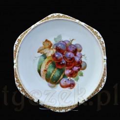 Luksusowy talerzyk śląski z winogronami i dynią