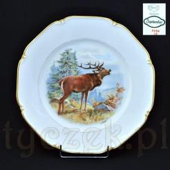 Płytki porcelanowy talerz obiadowy