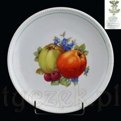 Owocowy talerz dekoracyjny marki Carl Tielsch CT Altwasser