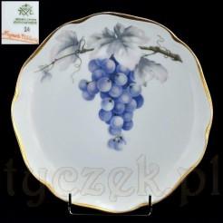 Zabytkowy talerz Rosenthal z motywem winogron