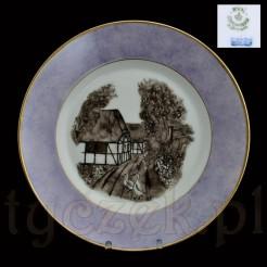 Wiejska sielanka na markowej porcelanie Royal
