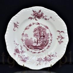 Gustowny talerz ceramiczny w typie Ironstone China wytwórni Mason's