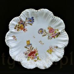 Dekoracyjny talerz wykonany z ceramiki