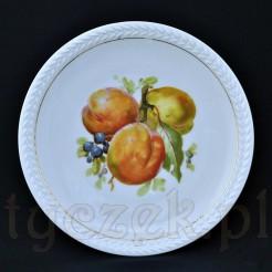 CT Altwasser talerz w owoce ze złobieniami