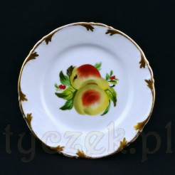 Oryginalny talerzyk deserowy- gratka dla koneserów owocowych talerzyków