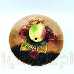 Wyjątkowy okaz w postaci talerza z figuralnym jabłkiem