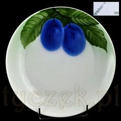 Talerz z motywem ślwek - stara porcelana Bavaria