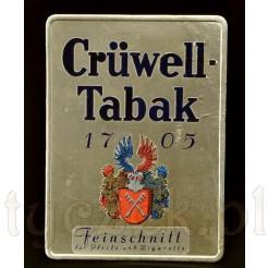 Stary plakat reklamowy - Tabaka Cruwell