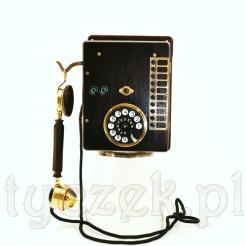 Rewelacyjny eksponat- centralka telefoniczna w mahoniowej obudowie