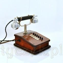 Zabytkowy domofon marki PRITEG - telefon z plebanii