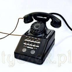 VINTAGE Duży telefon z biura prezesa lub pocztowca