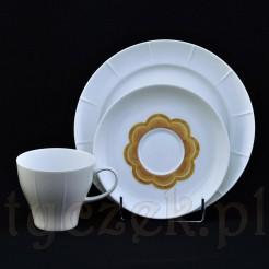 ciekawy designerski zestaw śniadaniowy