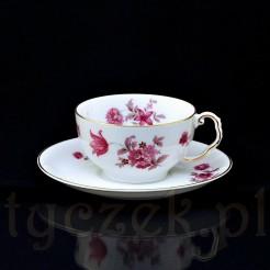 Przepięknej urody porcelanowa filiżanka do herbaty i kawy