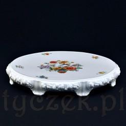 Luksusowa tortownica porcelanowa