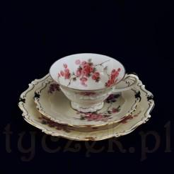 ekskluzywny zestaw z dawnej porcelany pochodzący z kolekcji MIMOSE