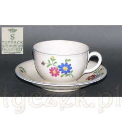 Ceramiczna filiżanka śląska marki Tuppack - Tiefenfurt