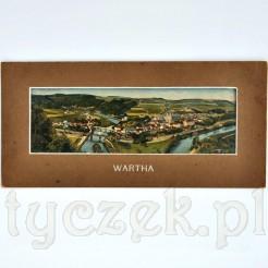 Zabytkowa pocztówka Wartha - widokówka BARDO