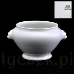Sygnowana porcelanowa waza śląska z Wałbrzycha