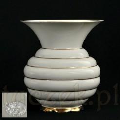 oryginalny wazon porcelanowy ecru