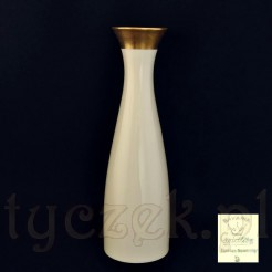 Smukły wazon ze szlachetnej porcelany bawarskiej