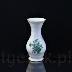 Piękny wazon z kolekcji w zielone kwiaty