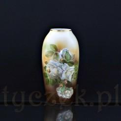 Piękny wazon o prostej pękatej formie pochodzący ze znamienitej wytwórni Rosenthal - Selb Bavaria