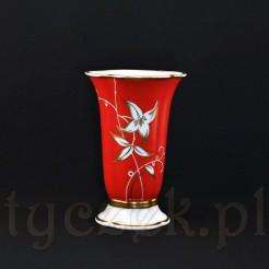 Luksusowy śląski wazon porcelanowy