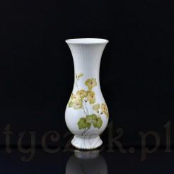 Oryginalny wazon ze śląskiej porcelany marki Carstens Sorau (dziś Żary)