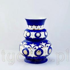 Schodkowy porcelanowy wazon