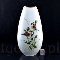 Luksusowy ręcznie malowany wazon podłogowy