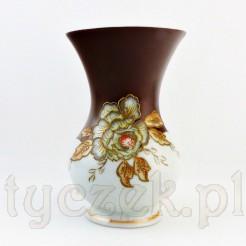 Porcelanowy wazon z piękną dekoracją