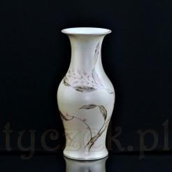 Wazon wykonany z wysokogatunkowej porcelany