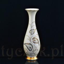 Porcelanowy wysoki wazon na kompozycje kwiatowe